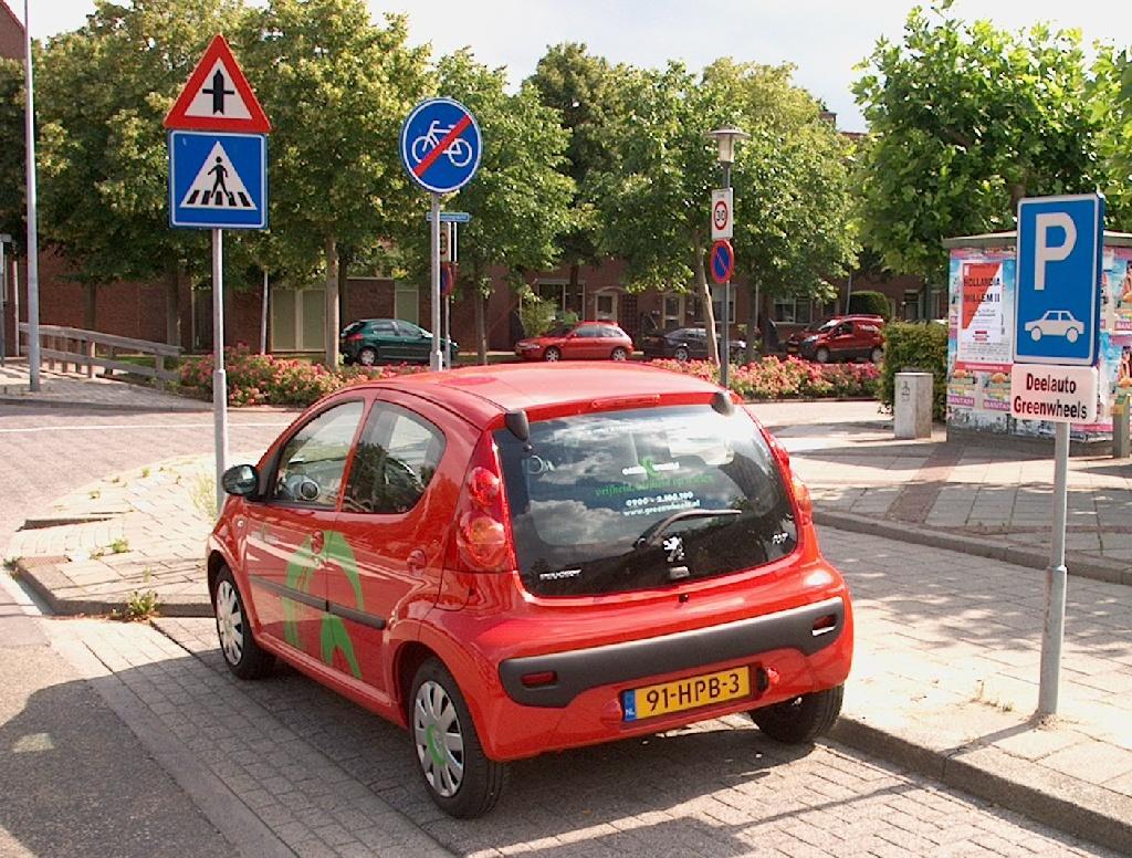 Tweede Greenwheels parkeerplaats in Hoorn - Hoorngids - de ... Greenwheels