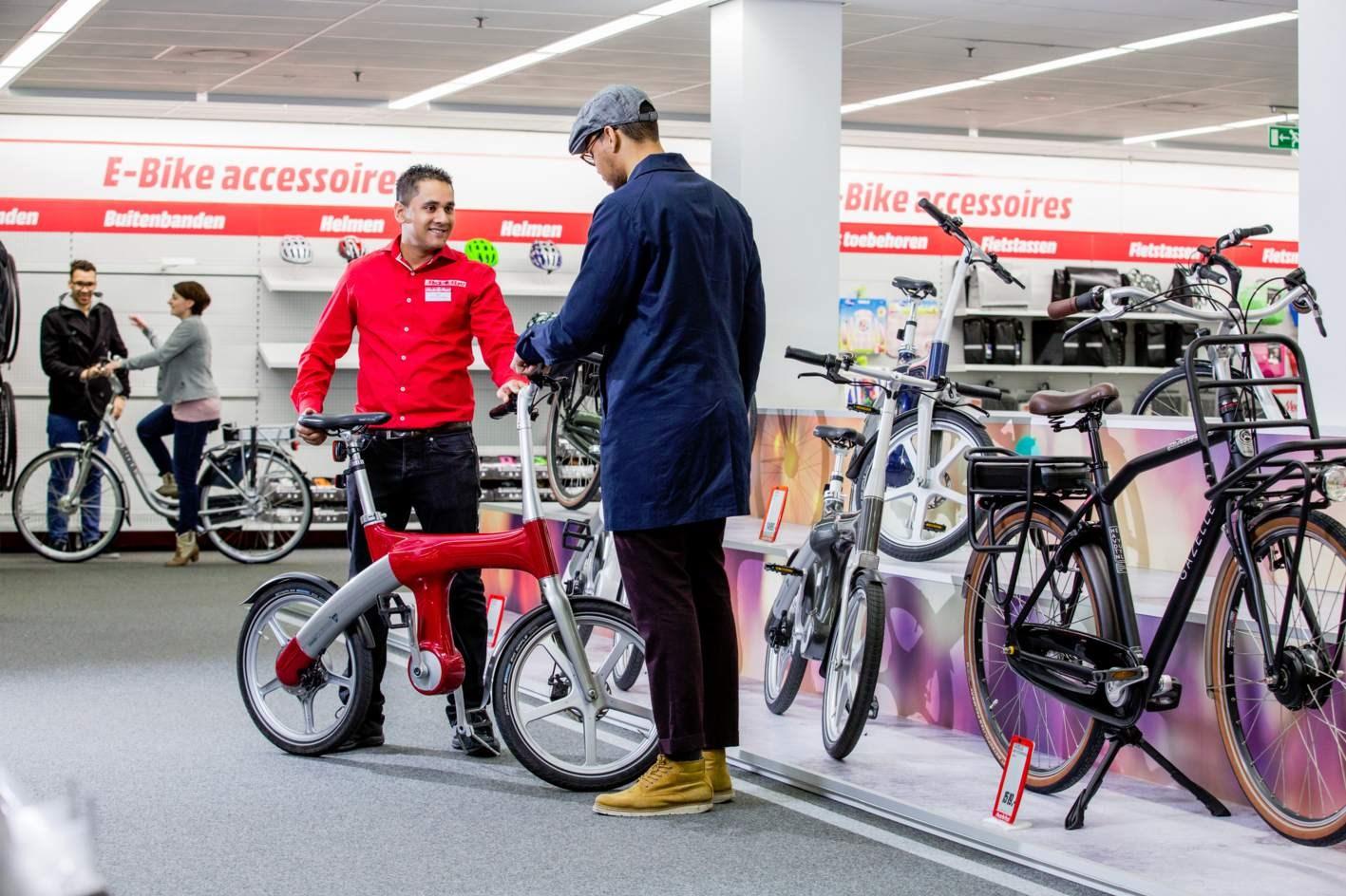 media markt hoorn gaat elektrische fietsen verkopen
