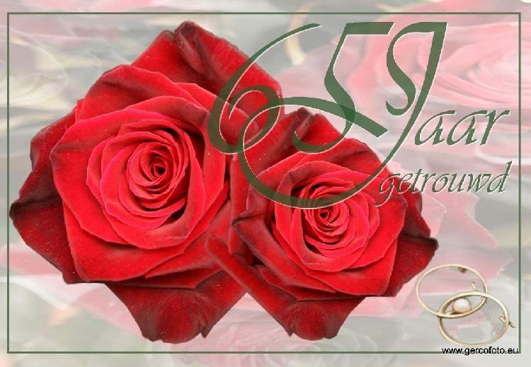 65 jarig huwelijksjubileum Gefeliciteerd 65 Jaar Getrouwd   ARCHIDEV 65 jarig huwelijksjubileum
