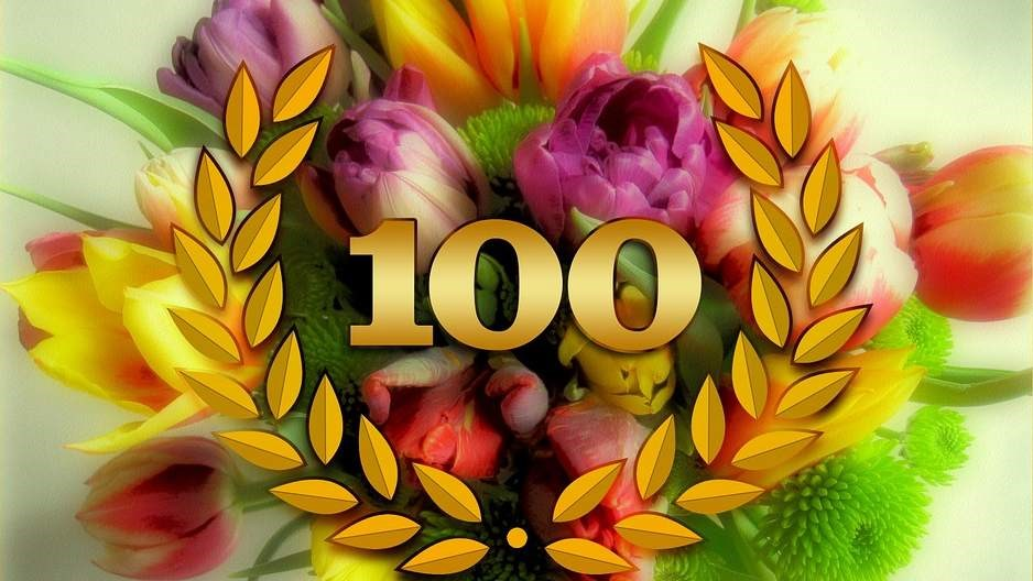 Mevrouw Van Dijk Van Zeventer Viert 100ste Verjaardag Hoorngids