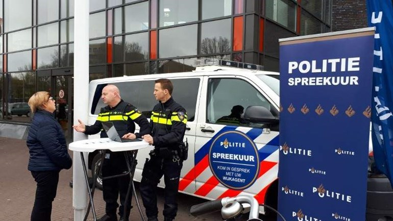 Pop-up politiebureau