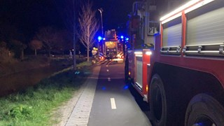 Brand in Hoogwoud 4