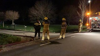 Brand in Hoogwoud 6